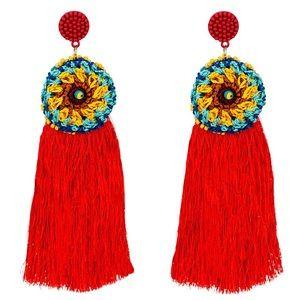 JUST IN!!! Women's fashion tassel earrings